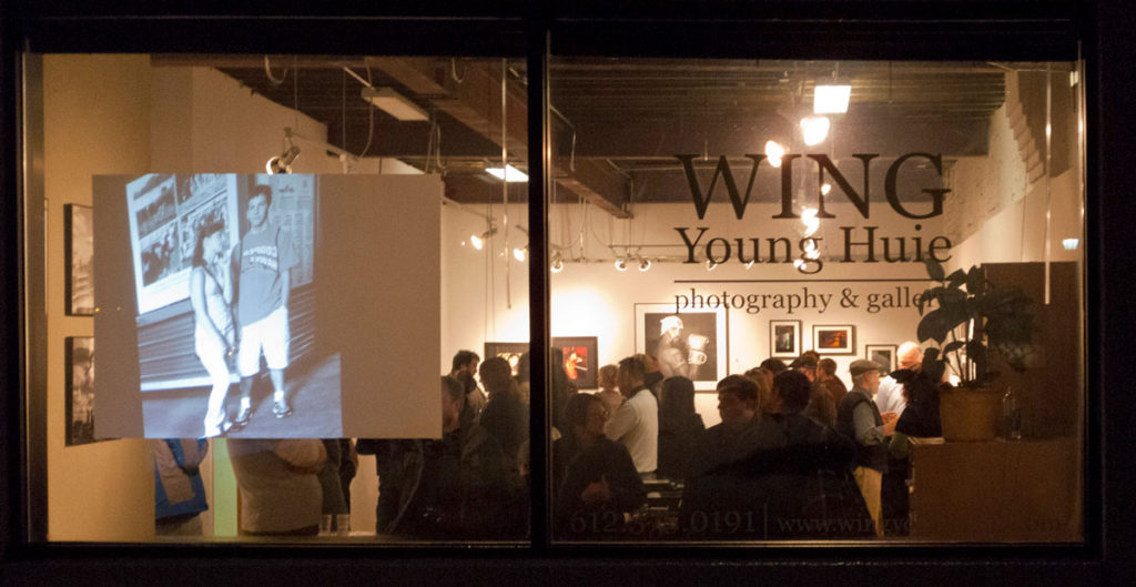 Wing Young Huie Gallery, November 2010 - Minneapolis, MN